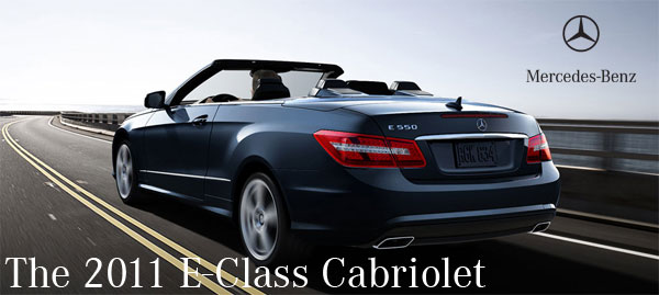 The newest 2011 e class cabriolet youtube video for Mercedes benz euro motorcars germantown